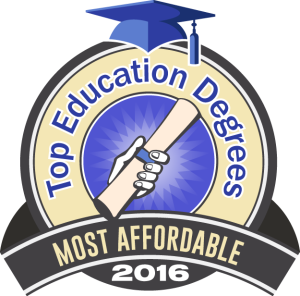 Top Education Degrees - Most Affordable 2016