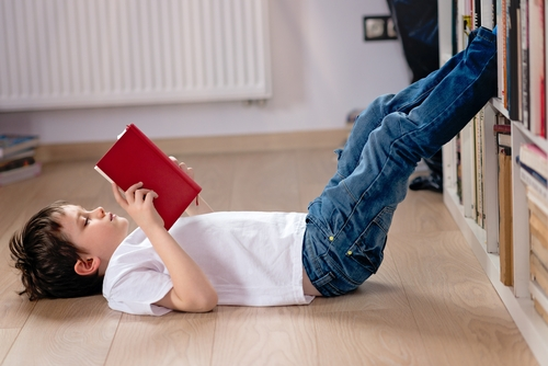 Homeschooled children are comfortable on their own