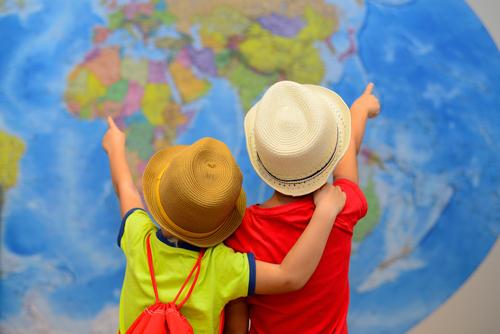 the world is a homeschool classroom